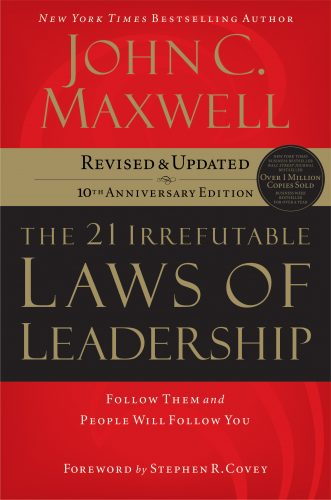21 laws book cover
